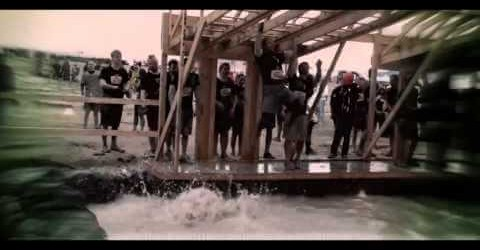 Desert Tech Team Competing at Tough Mudder.