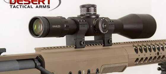 Desert Tech SRS-A1 with Kahles Scope.