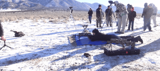 Desert Tech HTI Precison Rifle Shooting at 3080 yards.