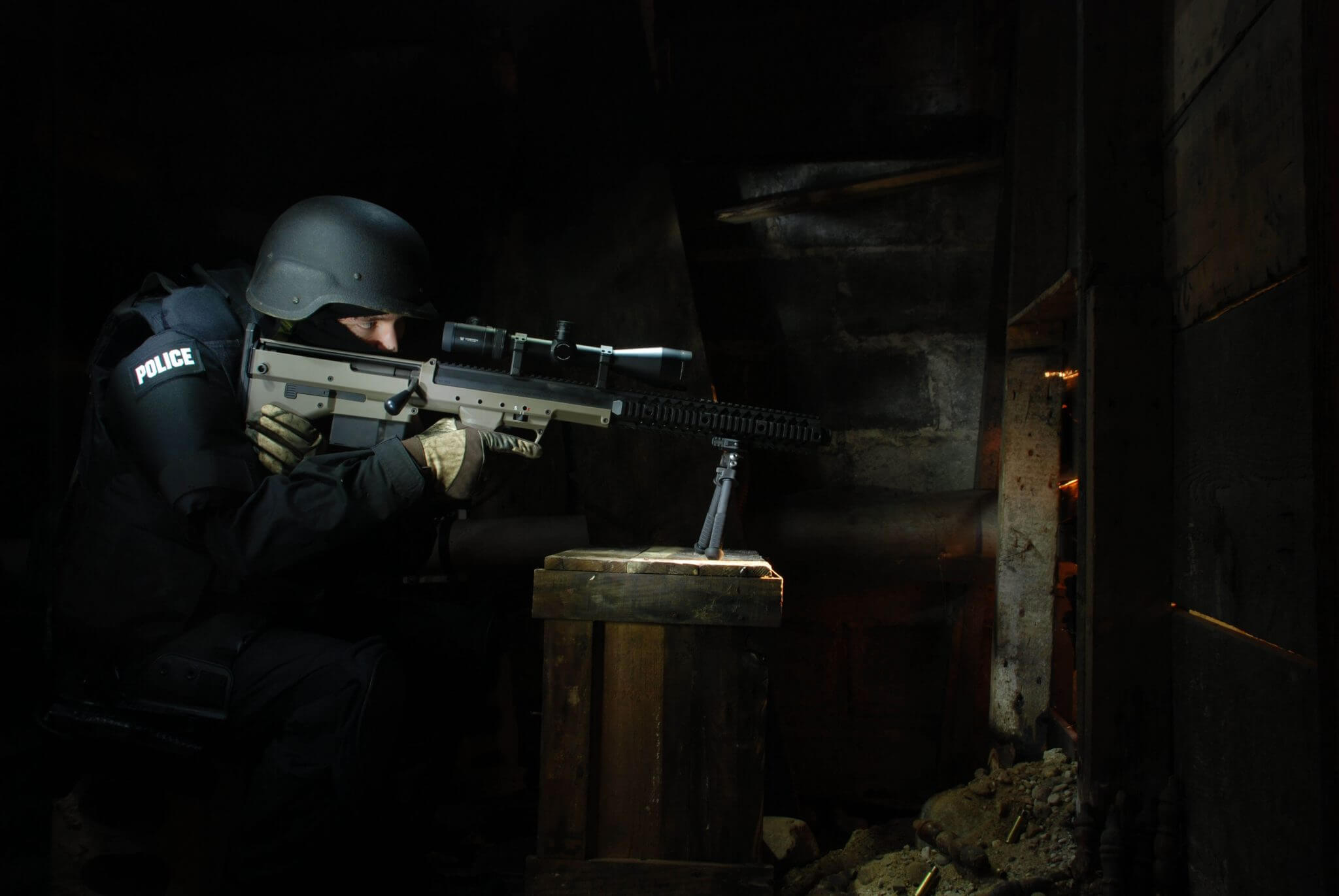 SRS-A1 Rifle Winner of the 2013 DTA Photo Contest.