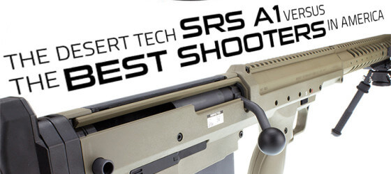 The Desert Tech SRS A1 Versus The Best Shooters in America.