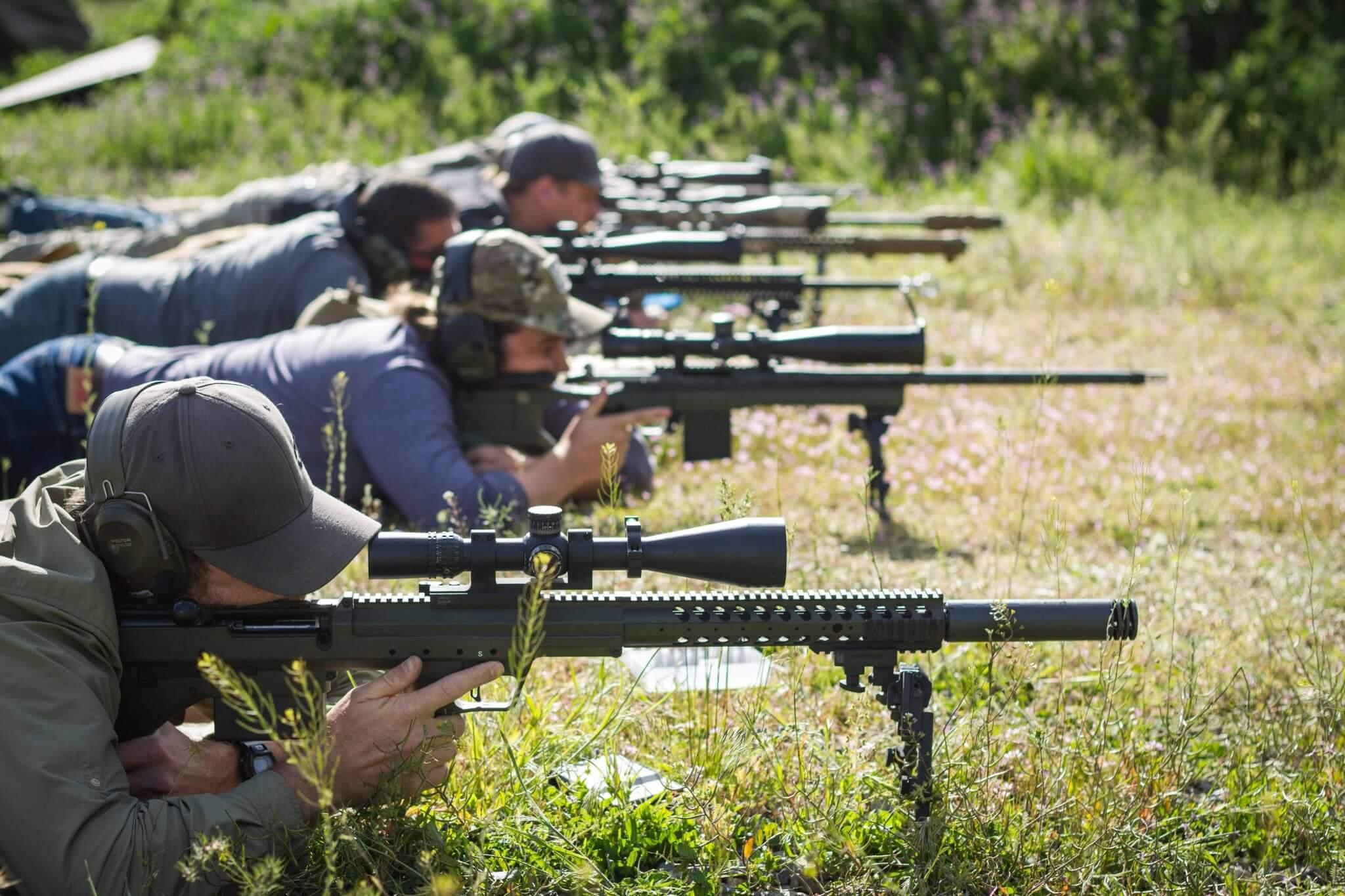 Long Range Shooting Rifles - Desert Tech