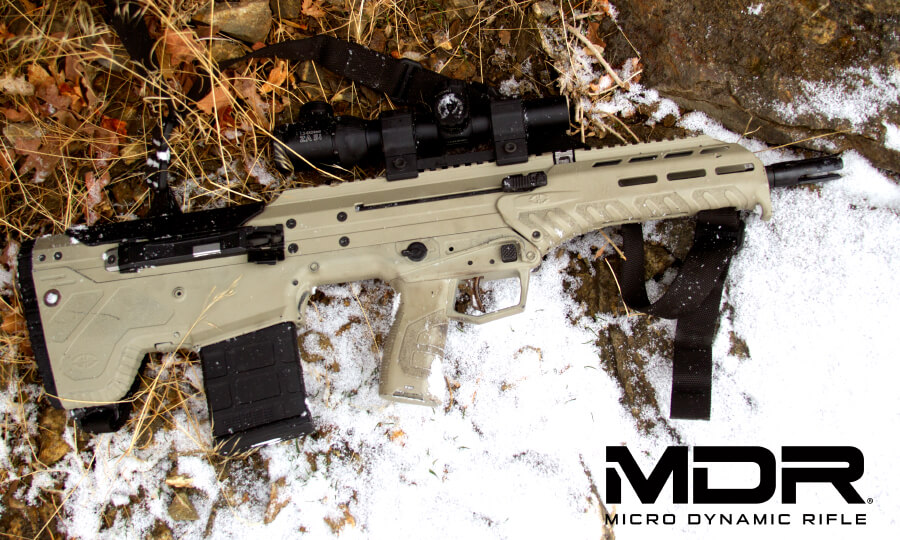 Desert Tech MDR Assault Rifle March Update - Tomorrows Weapons