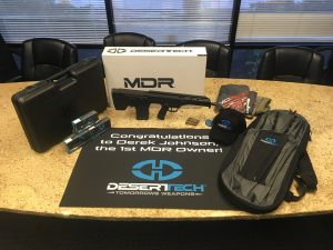 DT MDR set with case, bags, ammo, and more.