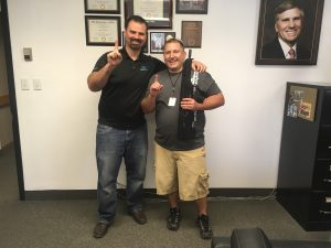 First batch of the Desert Tech MDR Rifle delivered to Derek Johnson.