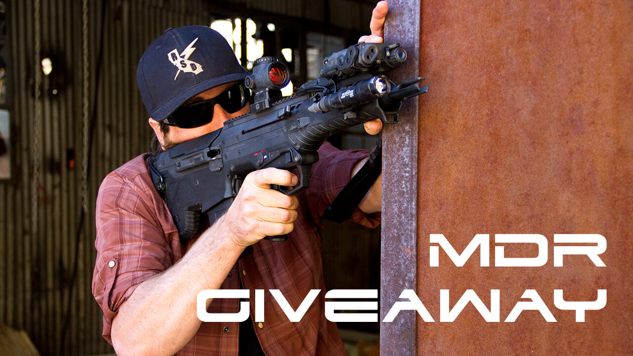 MDR Giveaway Contest 2017 by Desert Tech