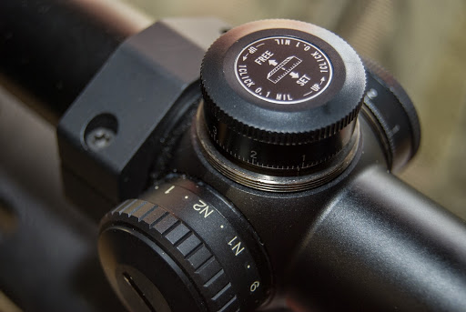 adjusting the mil increments on scope