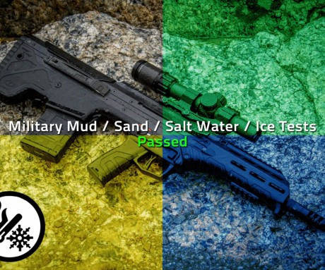 Military Mud Sand Salt Water and Ice Tests PASSED