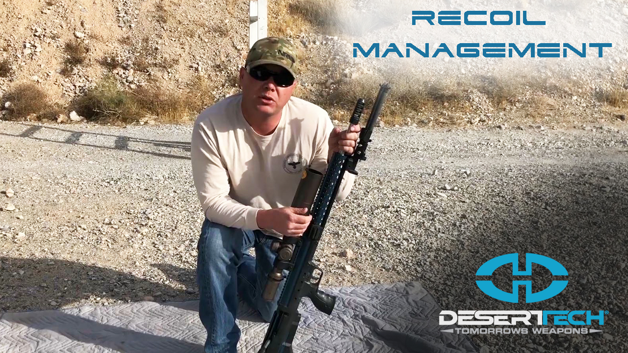 Recoil Management for PRS Shooting with the SRS