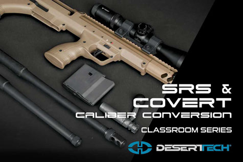 SRS COVERT Caliber Conversion