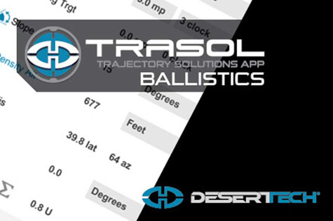 Trasol Ballistics Screen