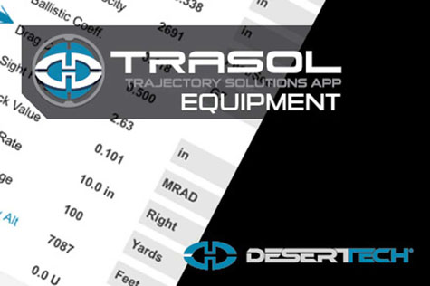 Trasol App Equipment Screen