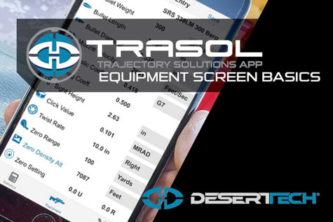 Trasol Equipment Screen Basics