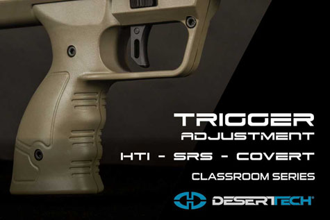 Trigger Adjustment SRS COVERT HTI
