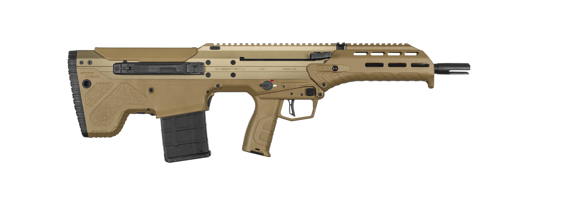 MDR FDE rifle chassis
