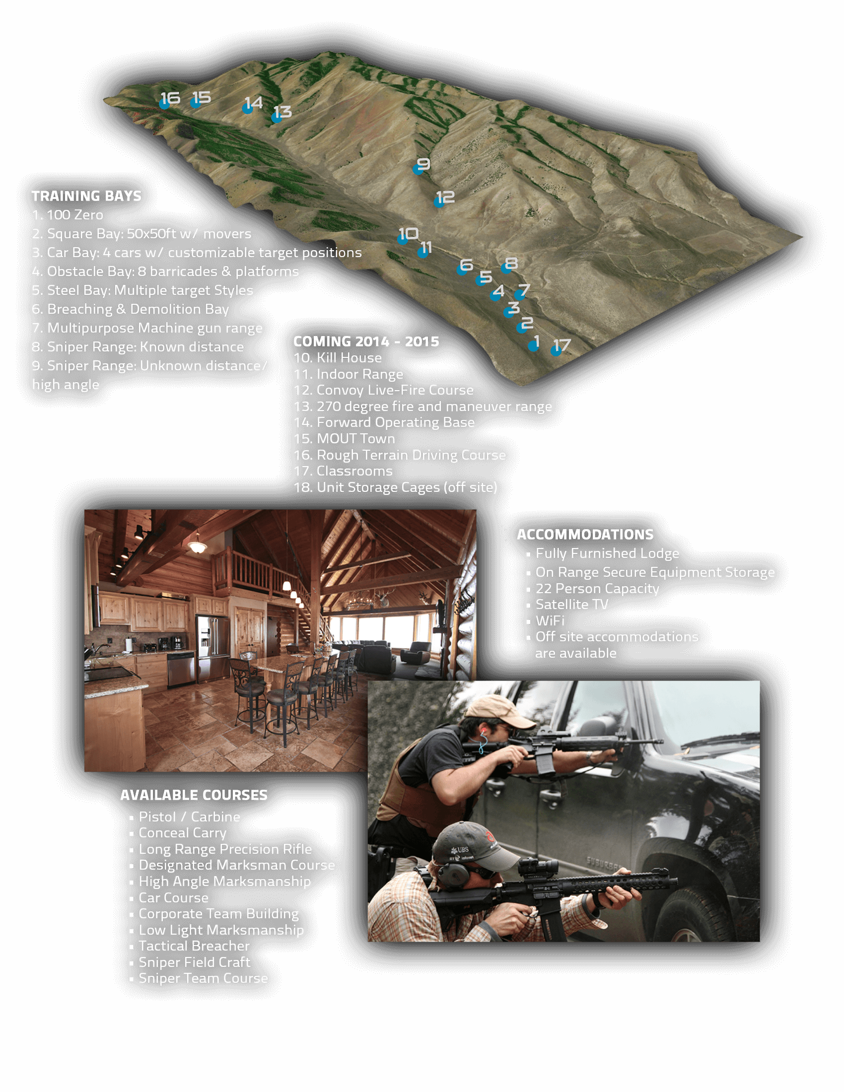 Desert Tech Training Facility Graphic